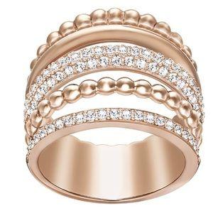 Swarovski Rose gold Multi ring